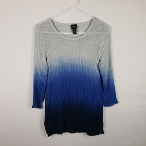 Travelers Chicos Top Ombre Tunic Knit #355